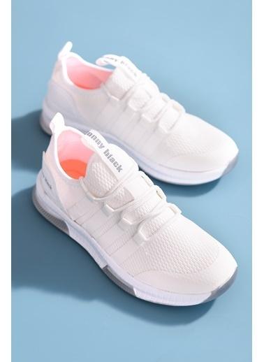 Tonny Black Beyaz Unısex Spor Ayakkabı Tbqnt Beyaz